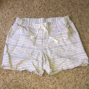 Talbots Striped Shorts Size M
